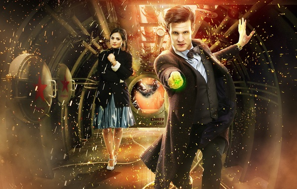 Картинка сериал, Мэтт Смит, Matt Smith, Doctor Who, Доктор кто