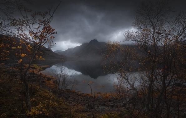 Тучи осень картинки