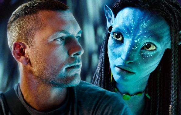 Картинка Avatar, Neytiri, Аватар, Jake Sully