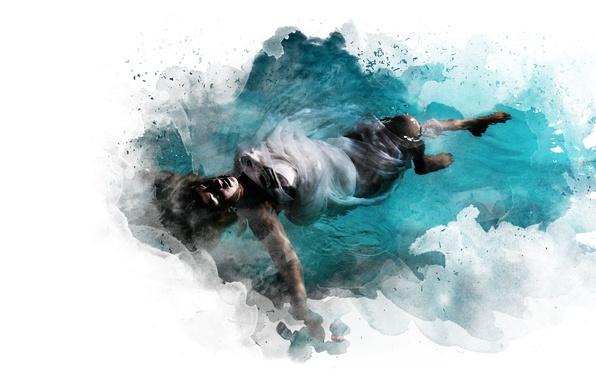 Картинка waves, woman, water, pendulum, witchcraft
