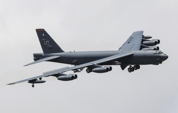 Картинка полет, Boeing, стратегический, бомбардировщи, тяжёлый, Stratofortress, B-52H