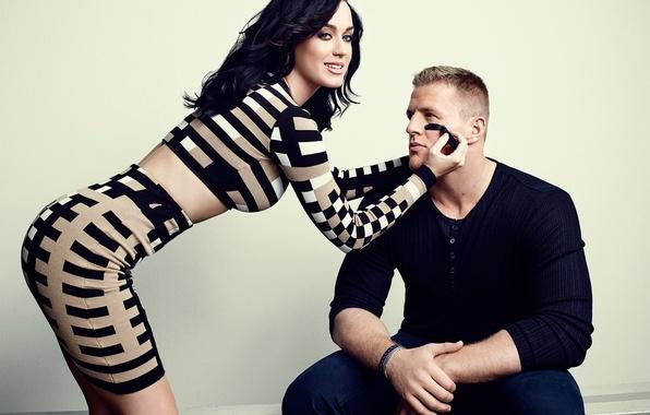 Картинка девушка, Кэти Перри, Katy Perry, мужчина, певица, знаменитость
