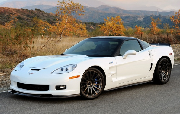 Картинка Corvette, Chevrolet, ZR1, шевроле, 2011, Hennessey, корветт