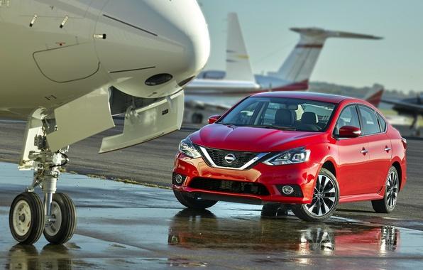 Фото обои сентра, Sentra, ниссан, Nissan