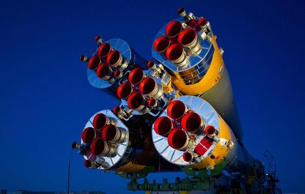 Картинка МКС, космодром, Союз ТМА 03 М, 30 экспедиция