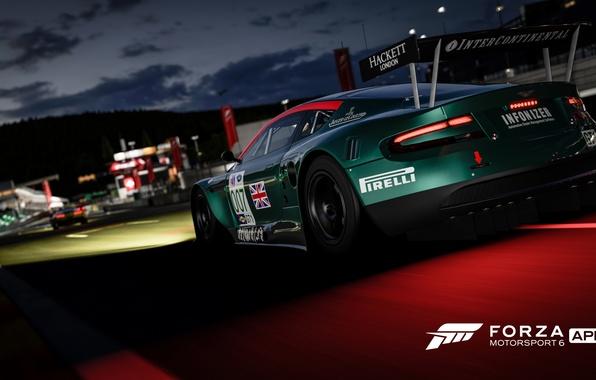 Картинка Aston Martin, трасса, гонки, Forza Motorsport 6, Forza Motorsport 6: Apex