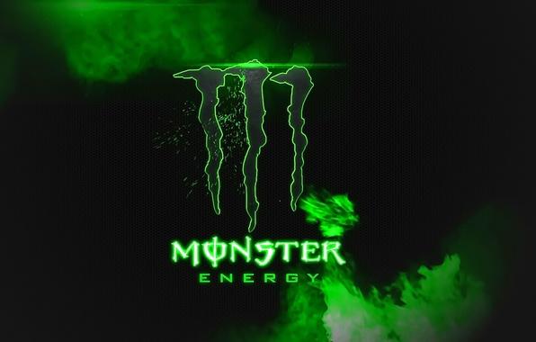 Картинка логотип, Monster Energy, бренд, энергетик