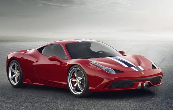 Картинка Ferrari, Red, 458, Italy, Speciale, 2014