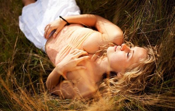 Картинка девушка, свет, фото, модель