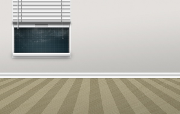 Картинка комната, стена, окно