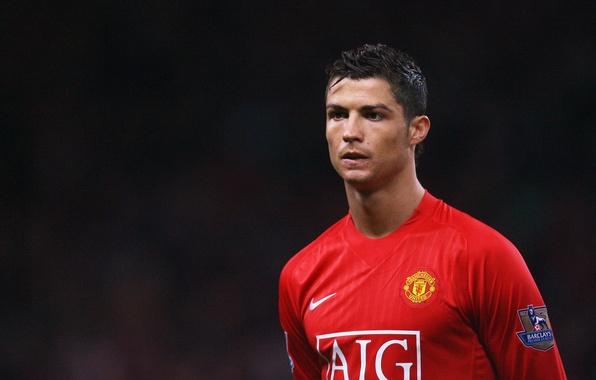 Картинка Спорт, Звезда, Футбол, Cristiano Ronaldo, Роналду, Манчестер юнайтед, Manchester United, Криштиану Роналду, Футболист, Ronaldo, Знаменитость