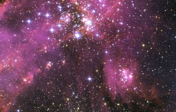 Картинка космос, звезды, туманность, space, nebula, stars