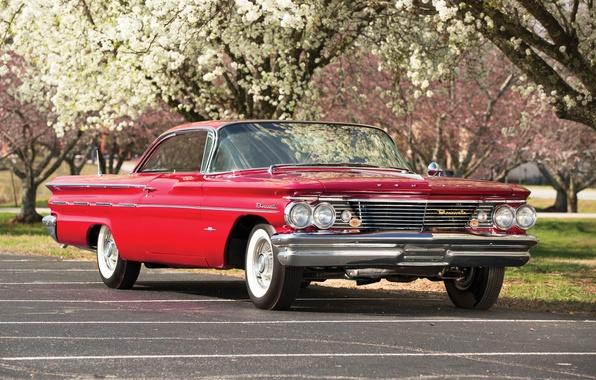 Картинка купе, 1960, Coupe, Pontiac, понтиак, Sport, Bonneville, бонневиль