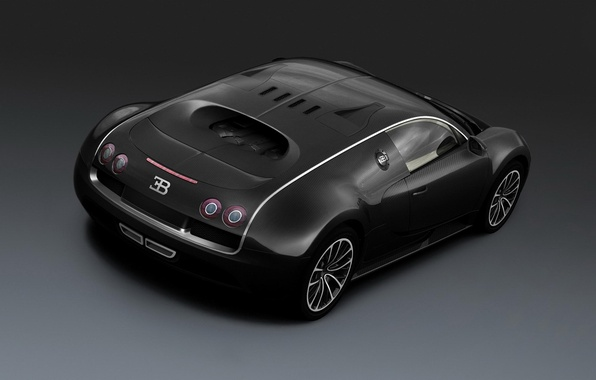 Картинка car, машина, авто, черный, Shanghai, sport, суперспорт, Bugatti Veyron, бугатти, Super Sport, вейрон