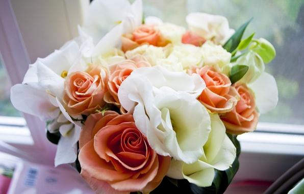 Картинка нежность, Цветы, букет, свадьба