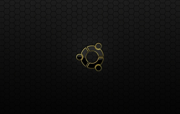 Картинка соты, linux, ubuntu