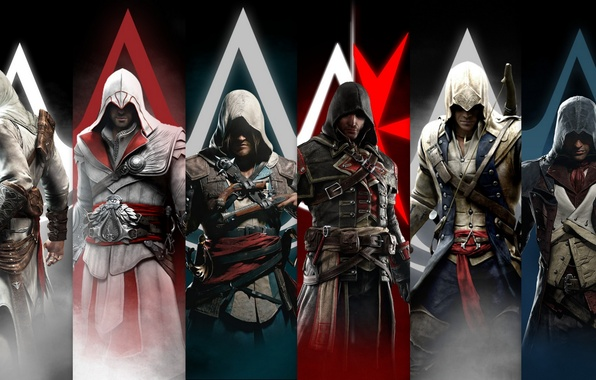 Kenway Vs Ezio Related...