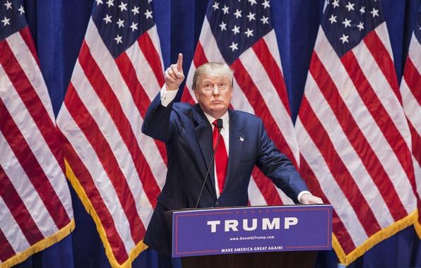 Картинка США, президент, Дональд Трамп