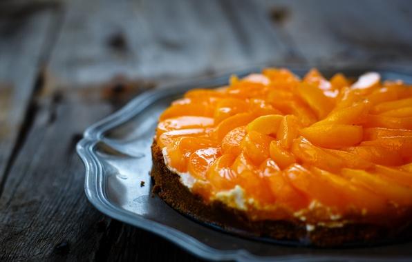 Картинка пирог, фрукты, десерт, выпечка, сладкое, блюдо, абрикосы, Julia Khusainova