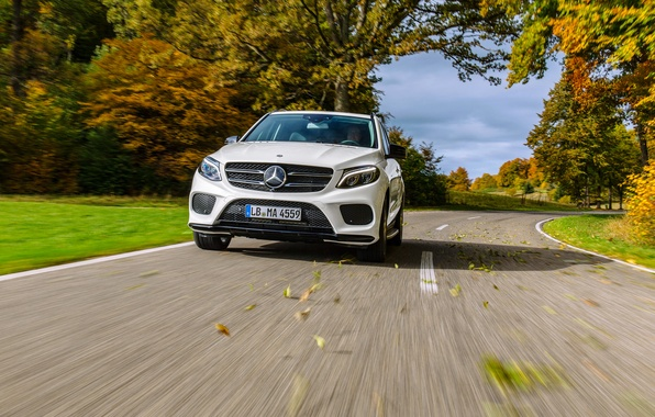 Картинка Mercedes-Benz, мерседес, AMG, амг, GLE-Class, W166