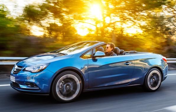 Картинка дорога, Opel, light, автомобиль, sun, Cascada