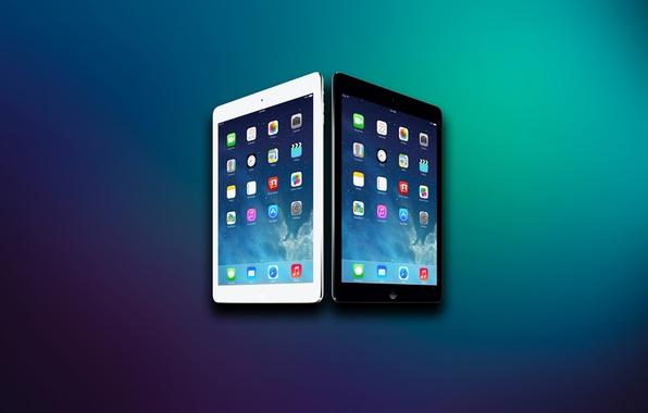 Картинка Apple, Фон, Абстракция, iPad, Планшет