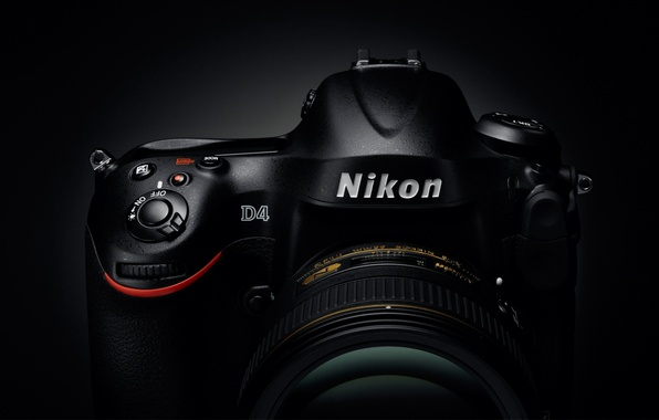 Картинка фотоаппарат, Nikon, объектив, Nikkor