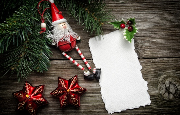 Картинка бумага, ягоды, праздник, игрушка, свечи, звёздочки, ёлка