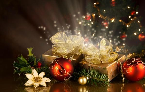 Новогодние подарки в отрадном