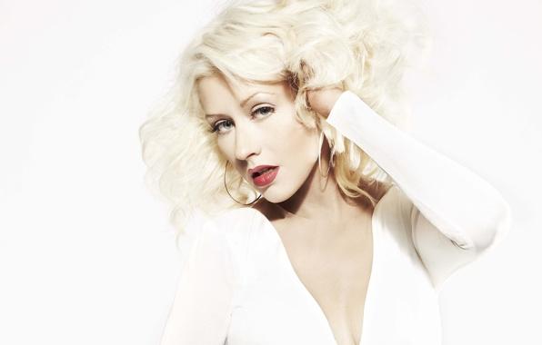 Картинка блондинка, певица, Christina Aguilera, Кристина Агилера
