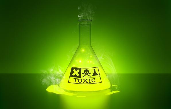 Картинка toxic, glow, liquid, laboratory