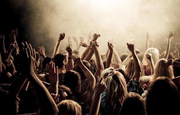 Фото обои стиль, люди, дискотека, клуб