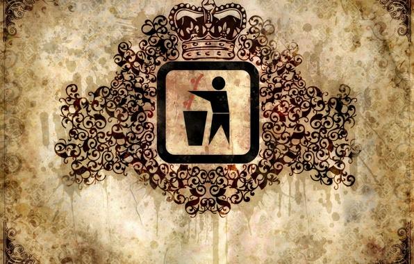 Картинка знак, узор, корона, пятна