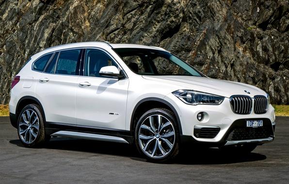 Картинка белый, бмв, BMW, кроссовер, F48