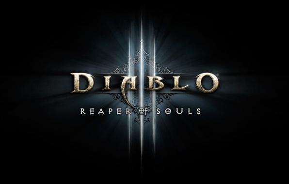 Картинка Blizzard, Logo, Diablo III, Blizzard Entertainment, Reaper of Souls, Diablo III: Reaper of Souls, Expansion …