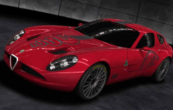Картинка 2010, TZ3, Alfa, Corsa, Romeo
