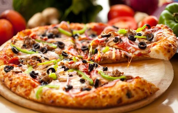 Картинка еда, пицца, pizza