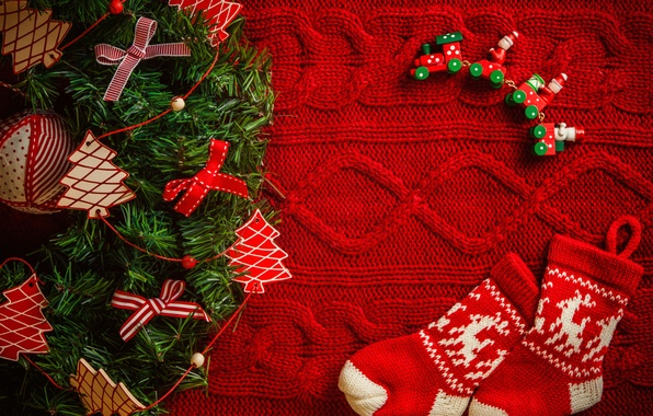Картинка зима, украшения, праздник, Рождество, Happy New Year, Christmas, winter, коробки, Merry Christmas, holiday, decoration, Christmas …