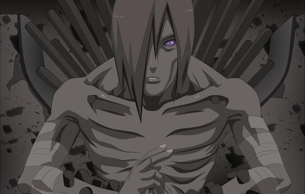Картинка Naruto, sharingan, evil, Akatsuki, piercing, Yahiko, Nagato, Naruto Shippuden, doujutsu, hitaiate, nukenin, rinegan, ninjutsu, Pain, …