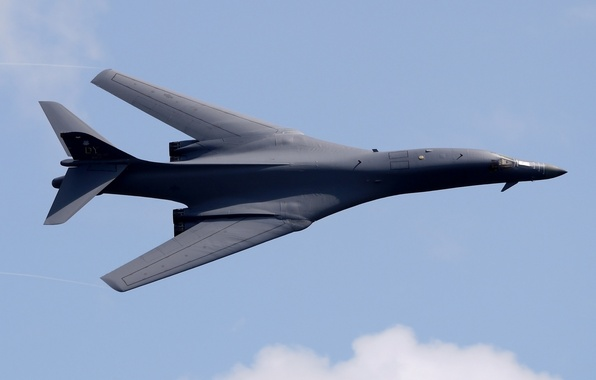 Картинка Lancer, бомбардировщик, B-1B, стратегический, сверхзвуковой