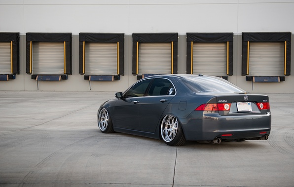 Картинка Honda, stance, Acura, TSX