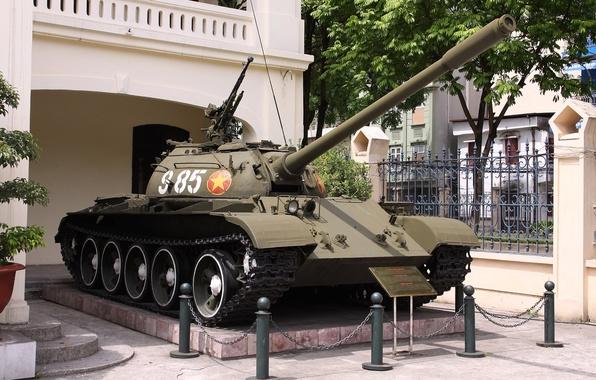 Картинка танк, бронетехника, советский, средний, Т-54Б