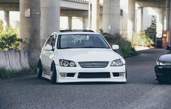 Обои Turbo Lexus White Japan Toyota Jdm Tuning