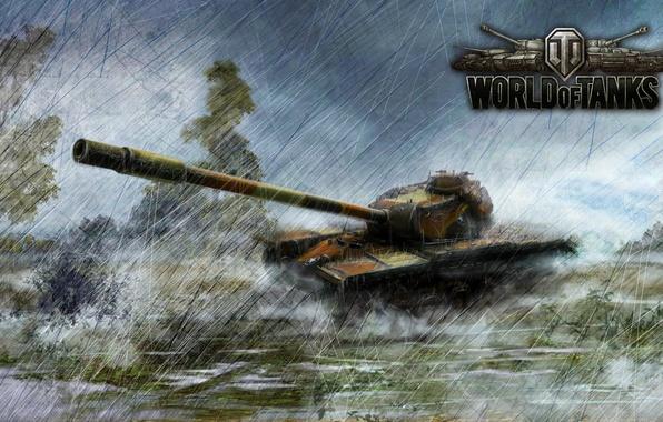 Картинка Танк, WoT, Т110Е5, World of Tanks