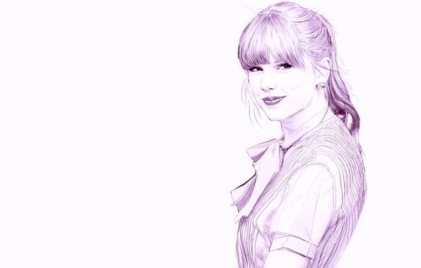 Картинка рисунок, карандаш, Taylor Swift