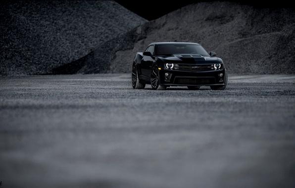 Картинка Chevrolet, Camaro, black, ZL1, Andrew Thompson