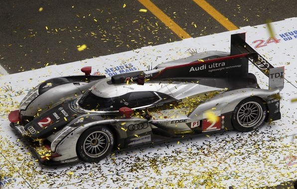 Картинка Le Mans, 2011, race, чемпионы, LMP1, Audi R18 TDI