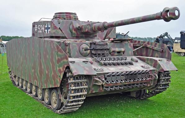 Картинка Танк, PzKpfw IV, Немецкий, Panzerkampfwagen IV, Средний