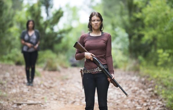 Картинка взгляд, Maggie, The Walking Dead, Ходячие мертвецы, Lauren Cohan