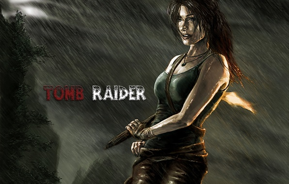 Картинка Tomb Raider, Лара Крофт, Art, Lara Croft, Расхитительница гробниц